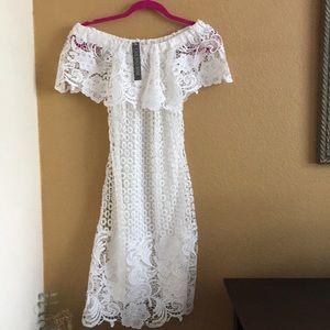 Gianni Bini  Little White Dress xs